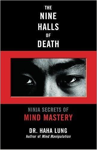 The Nine Halls of Death: Ninja Secrets of Mind Mastery by Dr ...