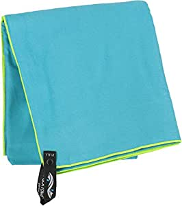 PackTowl Personal Quick Dry Microfiber Towel for Camping, Yoga, and Sports, Agave, Face - 10 x 14 Inch