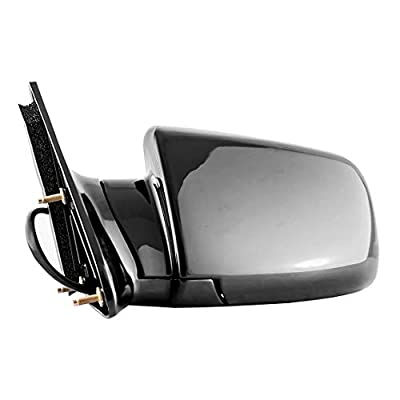 Dependable Direct Left Side Black Mirror Power Operated for 88-99 Chevy/GMC C/K 1500 2500 - GM1320122: Automotive