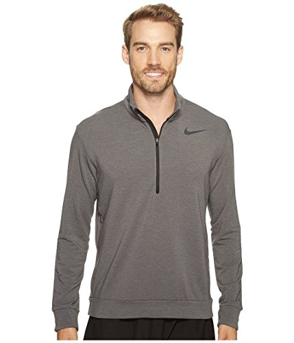 Nike Dry Long Sleeve 1/4 Zip-Up Mens Training Top (Pullover Training Top)
