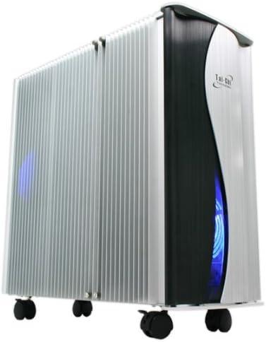 Thermaltake Tai-Chi Full-Tower Negro, Plata - Caja de Ordenador (Full-Tower, PC, Aluminio, ATX,BTX, Negro, Plata, 17,1 kg): Amazon.es: Informática