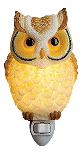 Ibis & Orchid Hoot Owl Night Light #50200