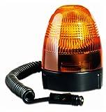 HELLA 007337021 KL Rotafix Magnetic Mount Beacon Warning Light, Rotating Patterns, 12V, Amber
