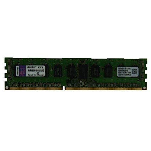 (Kingston KVR1333D3D8R9S/4G 4 GB DDR3 SDRAM PC3-10600 (DDR3-1333) 240 Pin 1.5V ECC Registered Server Memory)
