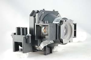 Rangeolamps–Lámpara de proyector con carcasa para EPSON EMP-737ELPLP32