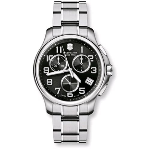 Victorinox Swiss Army Men's SWISSA-241453 Officer's Stainless Steel Watch