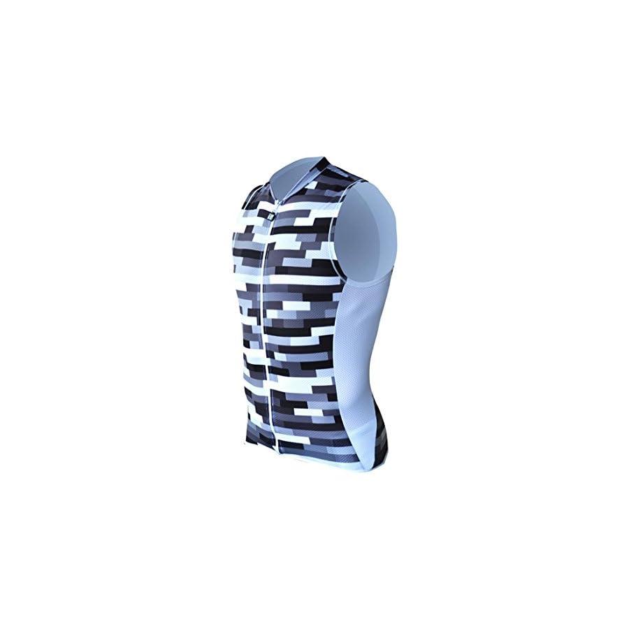 DeSoto Men's Riviera SDS Tri Top with Full Zip