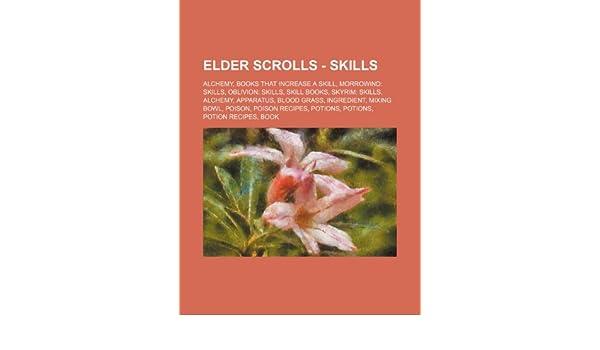 Elder Scrolls - Skills: Alchemy, Books that increase a skill