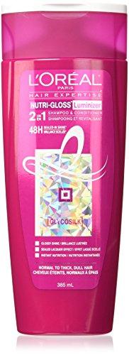 L'Oreal Paris Hair Care 2-in-1 Advanced Haircare Nutri-Gloss, 12.6 Fluid Ou by L'Oreal Paris