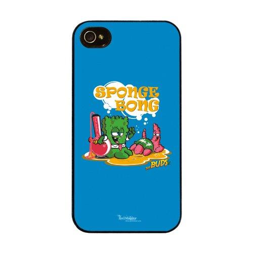 Diabloskinz H0026-0066-0066 Spongebong Schutzhülle für Apple iPhone 4/4S