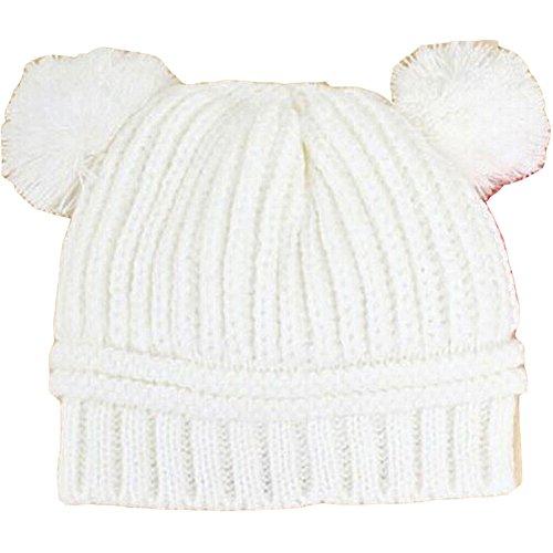 Winter Baby Beanie Hat, Warm Cute Cavel Kids Girls Knitted Crochet (Baby Squid Costume)