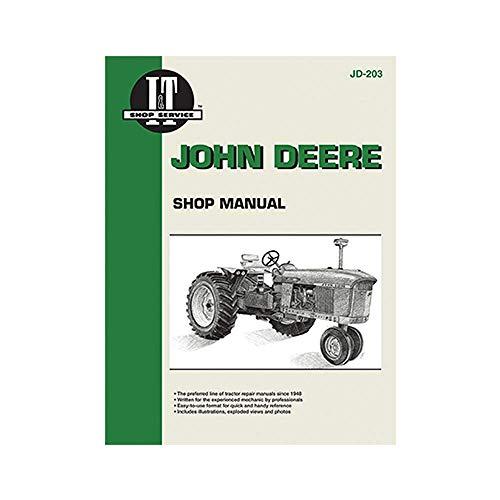 ITJD203 Shop Manual for John Deere Gasoline Models: 3010, 3020, 4000, 4010+