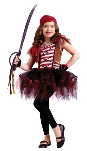 Batarina Pirate Child 8-10 (Batarina Tutu Child Costumes)