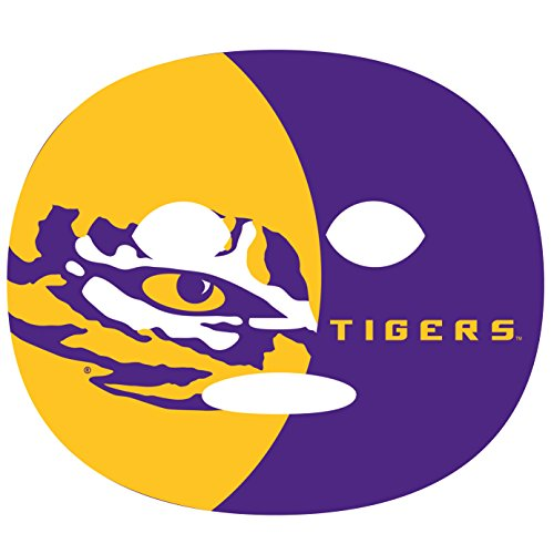 LSU Tigers Game Day Face Tattoo