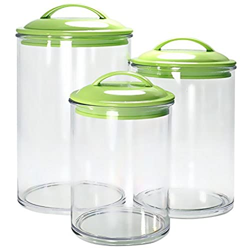 Well known Green Kitchen Canisters: Amazon.com TA81