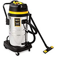 Unimac 60L Stainless Steel 2000W Wet and Dry Vacuum with Head Attachments