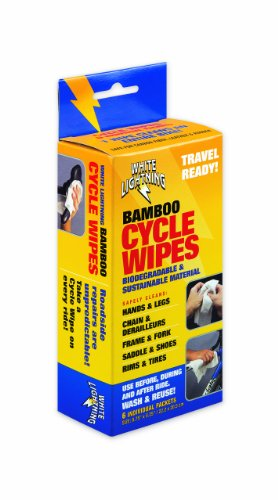 White Lightning Cycle Wipe (Pack of 6) by White Lightning (Image #1)