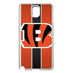 Cincinnati Bengals Team Logo Samsung Galaxy Note 3 Cell Phone Case White 218y3-204475
