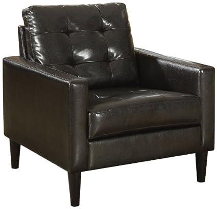 Custom Leather Accent Chairs Minimalist