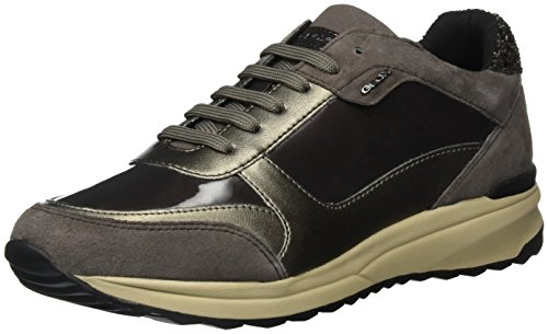 Dk D C Airell Brown Low Women's Taupe Sneakers C6tq6 Geox Top Coffee AqT8S4n