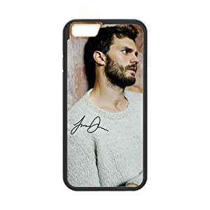 Onshop JAMIE DORNAN Poster and Signature Pattern Custom Phone Case Laser Technology for iPhone 6 4.7 Inch