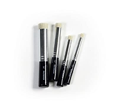 Cedar Canyon Textiles Shiva Stencil Brush Set-4/Pkg.