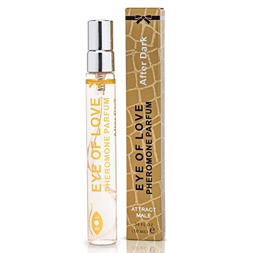 Eye Of Love: After Dark Deluxe Pheromone Perfume [Attract Men] Pheromones for Women - Pheromone Perfume Spray - Elegance - Extra Strength Human Pheromones Formula - for Work - for Play {Travel Size}