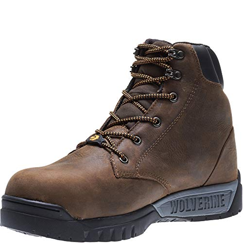 Wolverine Men's Mauler LX Composite Toe Waterproof Work Boot, Brown, 13 3E US by Wolverine (Image #5)