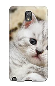 Brand New Note 3 Defender Case For Galaxy (cat Lying Down)