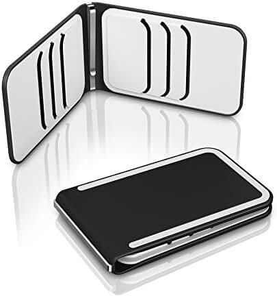 DOSH Luxe 6-Card Compact Designer Money Clip Wallet