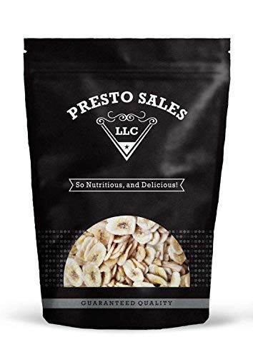 Banana Chips, Unsweetened (4 lbs.) by Presto Sales LLC by Presto Sales