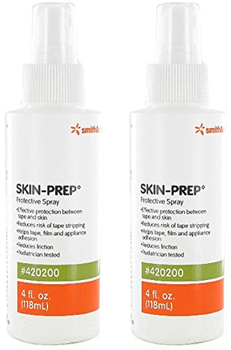 Skin Prep Protective Spray - 4 Ounce - Pack of 2