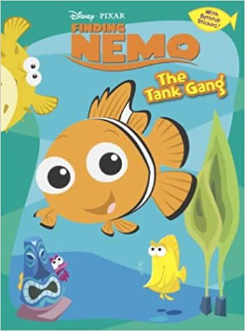 the tank gang finding nemo coloring book plus bathtub stickers rh disney 9780736421218 amazoncom books - Finding Nemo Coloring Book