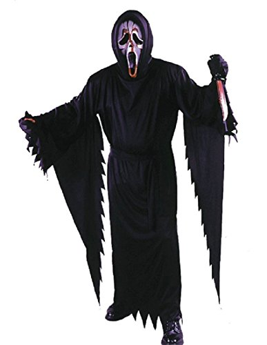 Scream Halloween Costumes Kids (Fun World Licensed Bleeding Scream Costume, Large 12 - 14,)