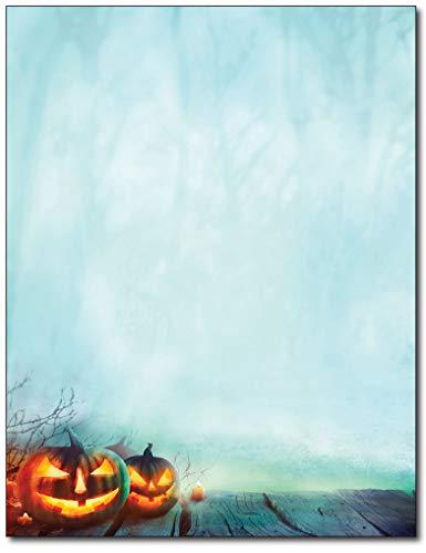 Enchanted Pumpkins Letterhead Paper - 80 Sheets -