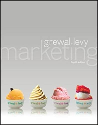 Amazon marketing 9780078029004 dhruv grewal michael levy books fandeluxe Choice Image