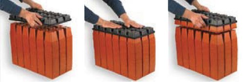 TO Plastics Series 250 Press Fill Carrying Tray, Bundle of 100 by TO Plastics