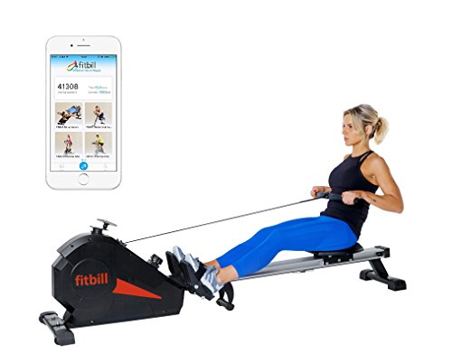 fitbill Smart Indoor Rowing Machine