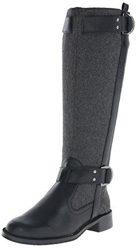 Aerosoles Women's Ride Line Riding Boot,Grey Wool,10 W US