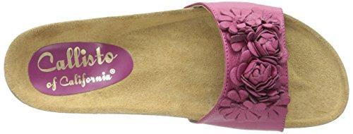 Callisto Women's Carlee Slide Sandal Fuchsia qmEsHW1yu