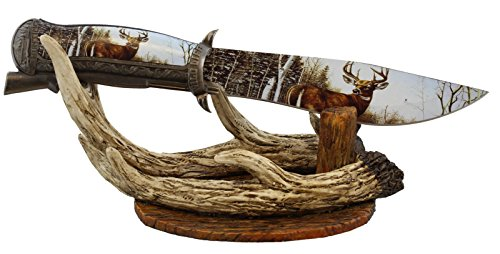 Decorative Handle Blade Antler Display product image