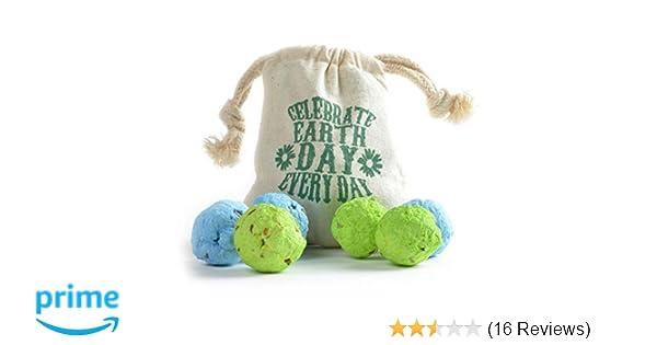 25 Seed Bombs Poppy wildflower Balls Garden Wedding Favour Birthday Present Eco