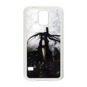 black rock shooter 11 Samsung Galaxy S5 Cell Phone Case White yyfD-314214
