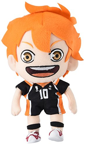 "GE Animation Great Eastern 52940 Haikyuu!! Shoyo Hinata Stuffed Plush, 9"" from GE Animation"