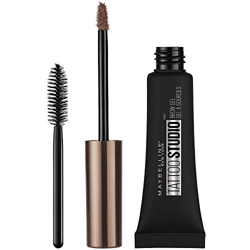 Maybelline Makeup TattooStudio Waterproof Eyebrow Gel, Blonde Brown Eye Brow Shade, 0.23 fl oz