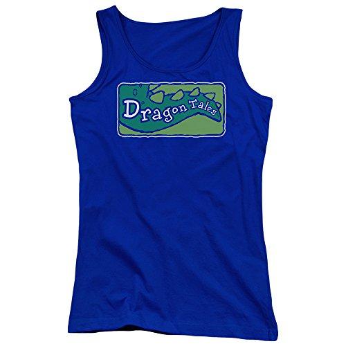 Dragon Tales - Logo Clean Junior Tank Top