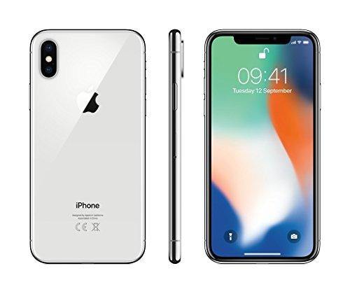 Apple Iphone X 64 Gb Sim Free Smartphone   Silver