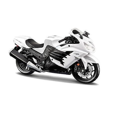 Amazon.com: Maisto – Maqueta de motocicleta escala 1: 12 ...
