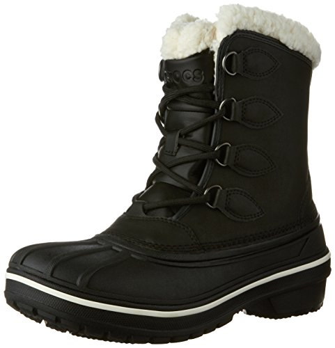 Crocs Women's AllCast II Snow Boot, Black, 8 M US by Crocs