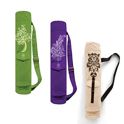 Gaiam Full-Zip Cargo Pocket Yoga Mat Bags by Gaiam